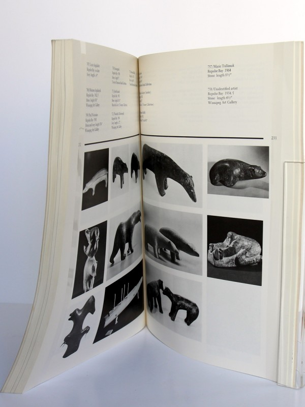 Sculpture of the Eskimo, George Swinton. McClelland and Stewart, 1987. Pages intérieures 2.