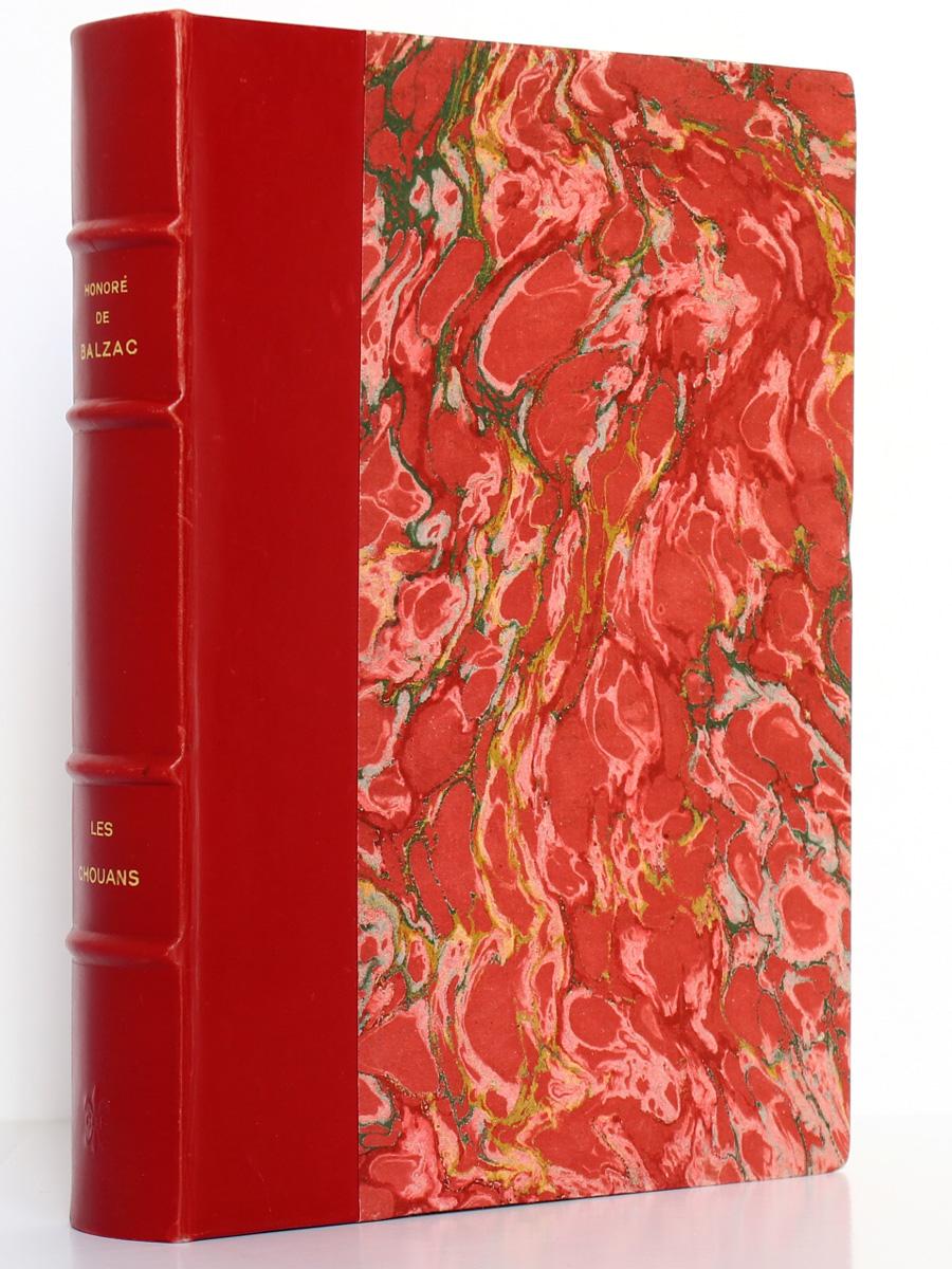 Les Chouans. Balzac. Club bibliophile de France 1954. Reliure.
