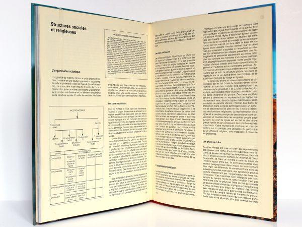Himbas Tribu de Namibie Sylvie BERGEROT, Éric ROBERT. Denoël 1989. Pages intérieures 2.