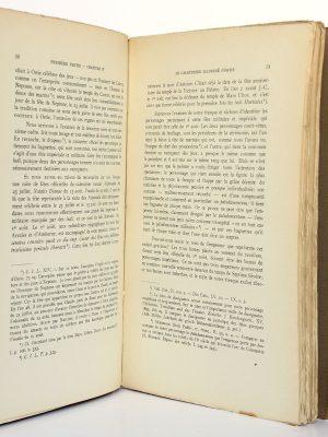 Recherches sur les jeux romains André Piganiol. Librairie Istra 1923. Pages intérieures.