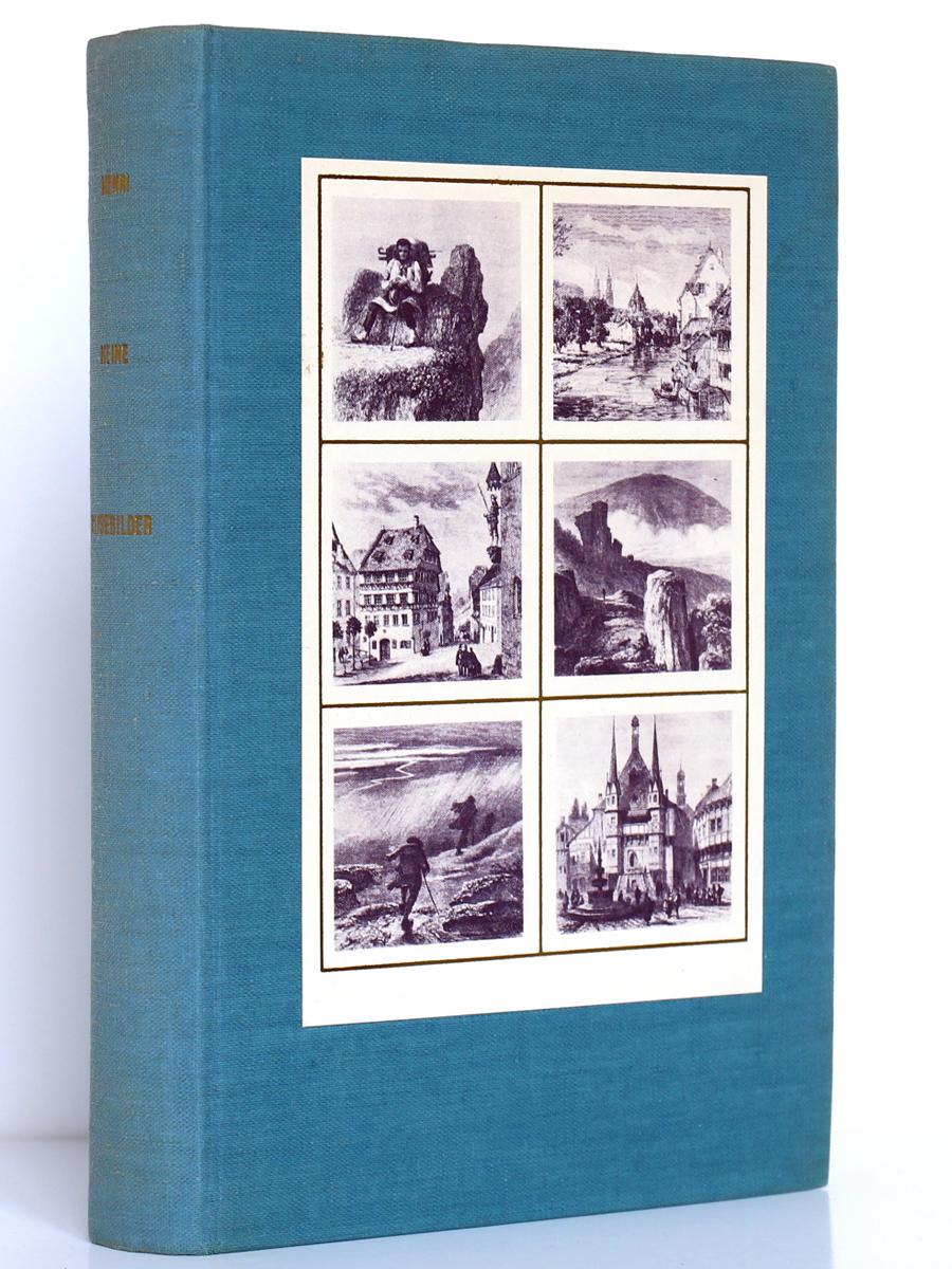 Reisebilder Tableaux de voyage. Heinrich Heine. Le Club français du Livre 1958. Couverture.