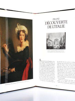 Mémoires d'une portraitiste 1755-1842. Élisabeth Vigée-Lebrun. Scala 1989. Pages intérieures.