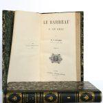 Le barreau au XIXe siècle, M.O. Pinard. Pagnerre Libraire-Éditeur, 1864-1865. 2 volumes. Volume 2 : page titre.