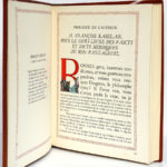 Le Tiers Livre, Rabelais. Illustrations Jean Gradassi. Éditions Le Chant des Sphères, 1964. Pages intérieures 2.