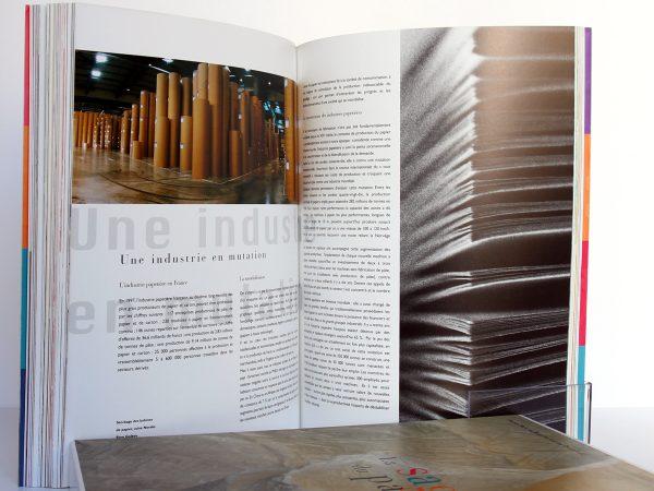 La Saga du papier, P-M de Biasi, K. DOUPLITZKY. Arte Éditions / Éditions Luc Pire, 1999. Pages intérieures 3.