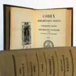 Codex 1937. Imprimeries Oberthur. 2 volumes. Pages intérieures 1.