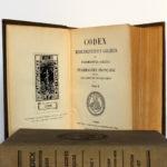 Codex 1937. Imprimeries Oberthur. 2 volumes. Pages intérieures 3.