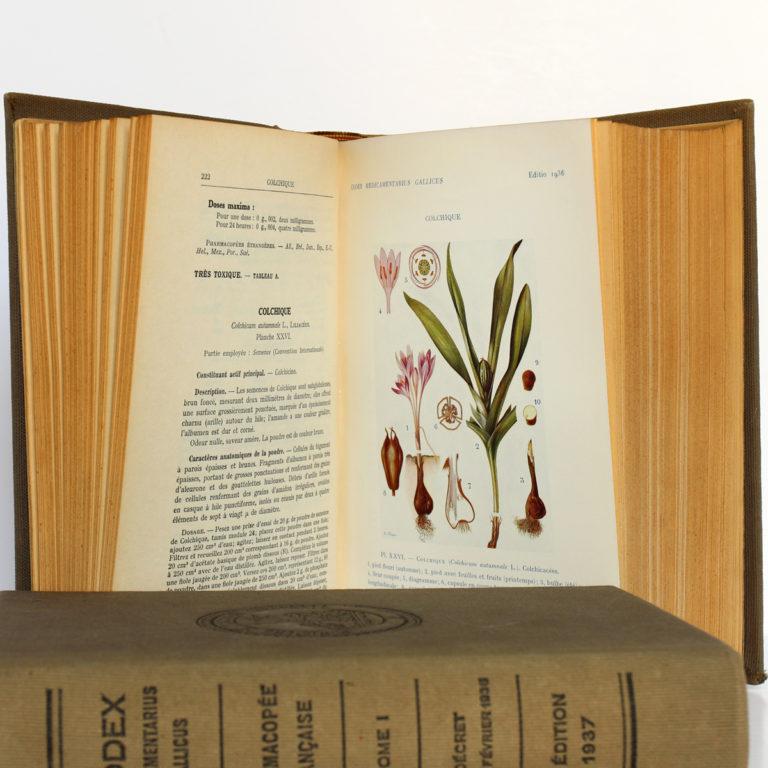 Codex 1937. Imprimeries Oberthur. 2 volumes. Pages intérieures 4.