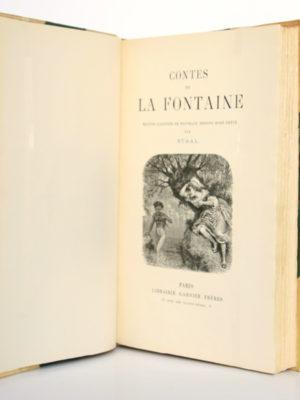Contes de La Fontaine. Garnier Frères, 1931. Page titre.
