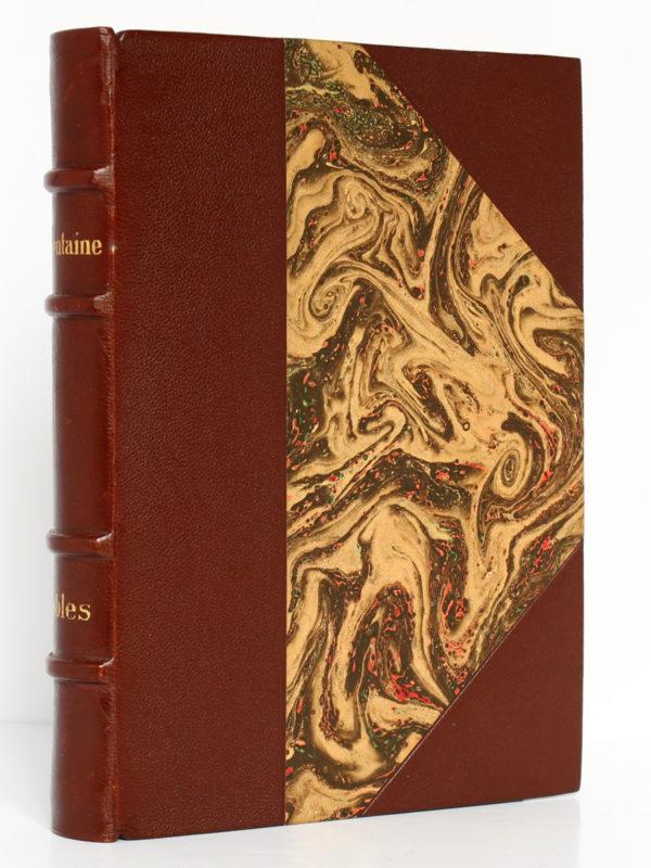 Fables, La Fontaine. Hachette 1934. Reliure.
