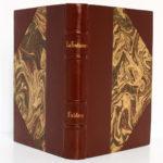 Fables, La Fontaine. Hachette 1934. Reliure : dos et plats.