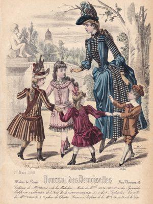Journal des Demoiselles 1er mars 1888. 4666.