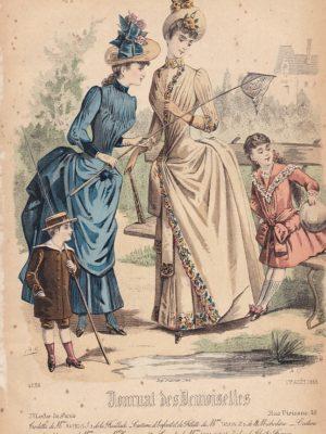 Journal des Demoiselles 1er août 1888. 4688.