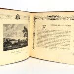 La ligne de Sceaux Chemin de Fer métropolitain de Paris. Éditions Jacques Arnaud v.1932. Pages intérieures 2.