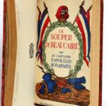 Le Discours de Lyon - Le Souper de Beaucaire - Manuscrit venu de Sainte-Hélène, par Napoléon Bonaparte. 3 livres en un volume. Éditions Morancé, sans date [V. 1930]. Deuxième page titre.