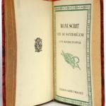 Le Discours de Lyon - Le Souper de Beaucaire - Manuscrit venu de Sainte-Hélène, Napoléon Bonaparte. Éditions Morancé, sans date [V. 1930]. Troisième page titre.