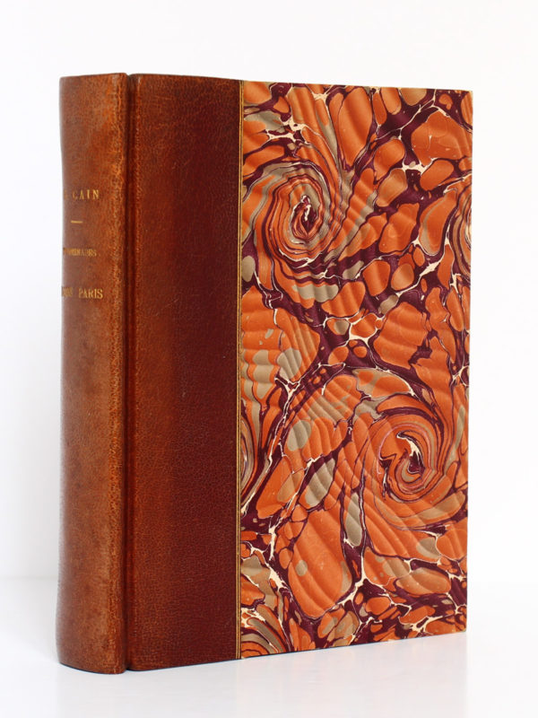 Promenades dans Paris, Georges Cain. Flammarion, v. 1906. Reliure.
