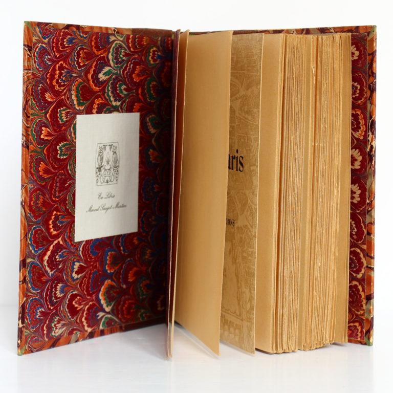 Promenades dans Paris, Georges Cain. Flammarion, v. 1906. Ex-libris.