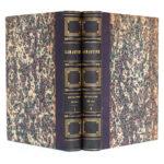 Histoire de la Révolution de 1848, Alphonse de Lamartine. Perrotin, 1849. 2 volumes. Reliures : dos et plats.