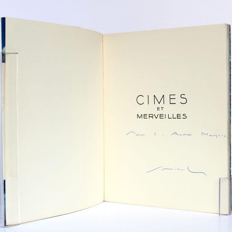 Cimes et Merveilles, Samivel. Arthaud, 1952. Envoi de l'auteur.