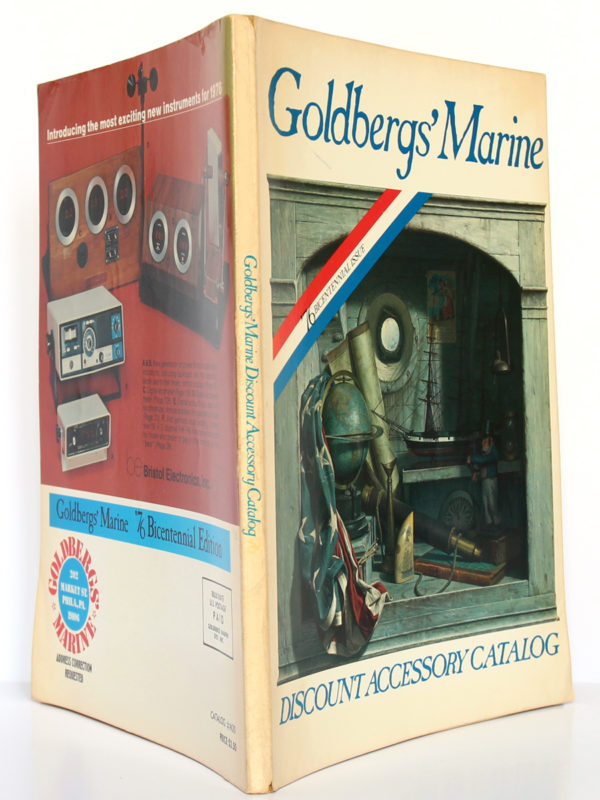 Goldbergs' Marine. Discount Accessory Catalog. 76 Bicentennial Issue. 1975. Couverture : dos et plats.