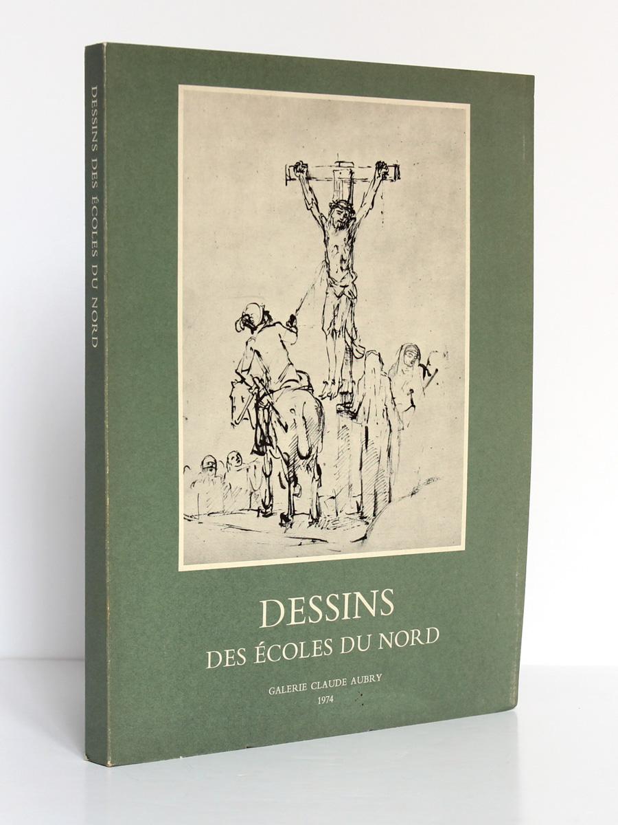 Dessins des Écoles du Nord. Galerie Claude Aubry 1974. Couverture.