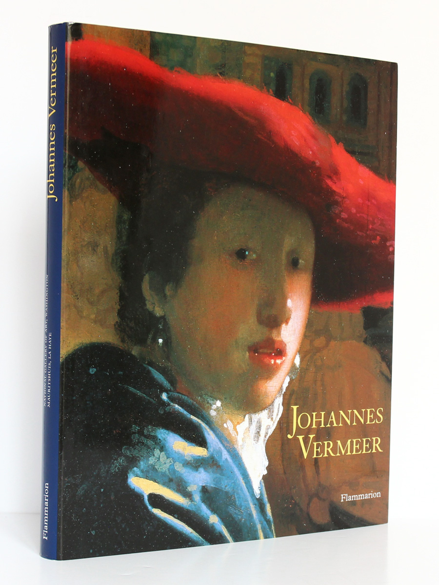 Johannes Vermeer, sous la direction de Arthur K. WHEELOCK Jr. Expositions La Haye et Washington 1995 et 1996. Couverture.