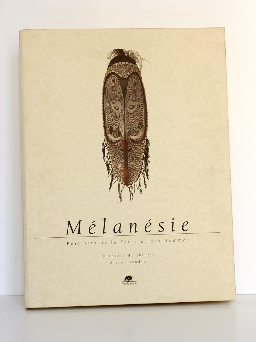Mélanésie Portraits de la Terre et des Hommes. Terre bleue, 1998. Couverture.