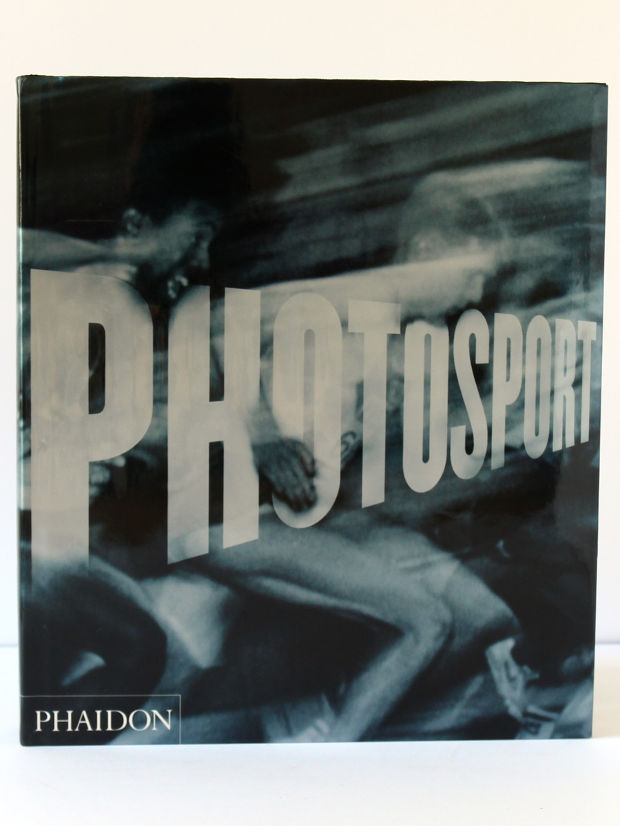 Photosport. Phaidon, 2000. Couverture.
