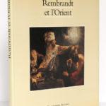 Rembrandt et l'Orient, Marc Le Bot. Arthaud/Flammarion, 1990. Couverture.