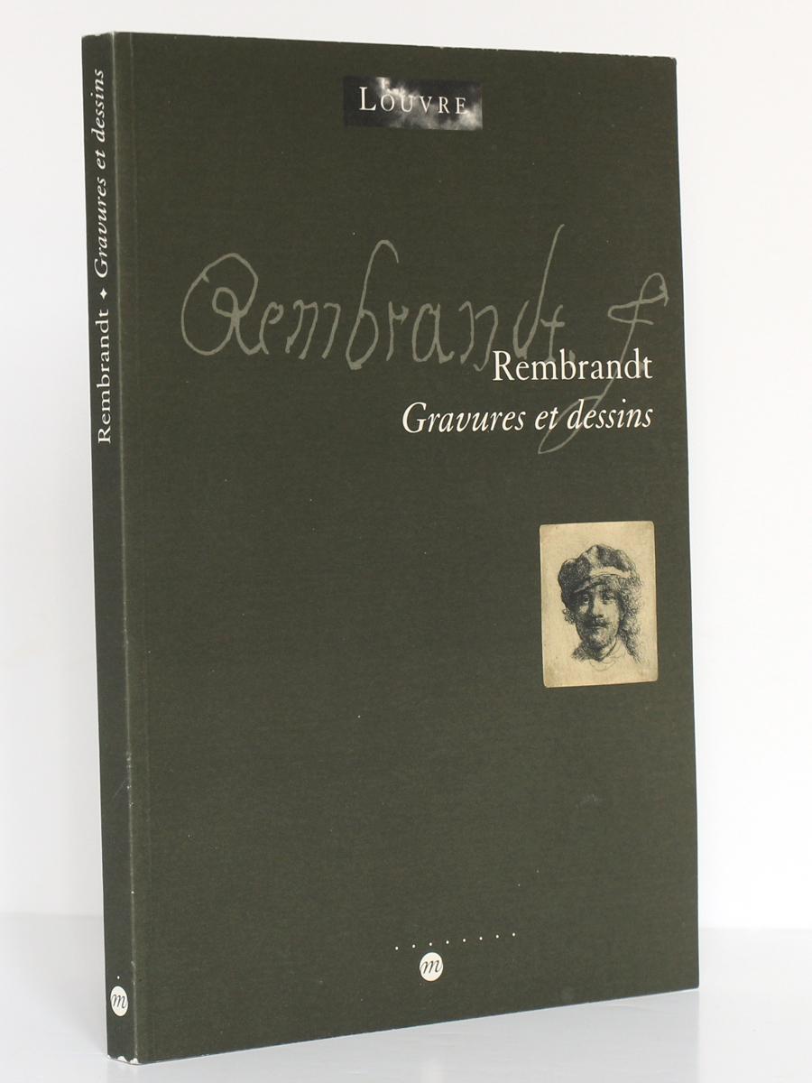 Rembrandt, Gravures et dessins. Réunion des Musées Nationaux, 2000. Couverture.