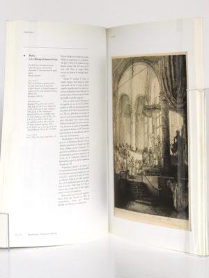 Rembrandt, Gravures et dessins. Réunion des Musées Nationaux, 2000. Pages intérieures.