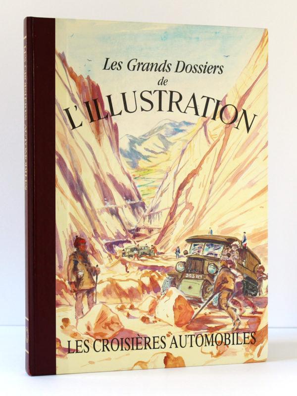 Les croisières automobiles. Les grands dossiers de l'Illustration, 1988. Couverture.
