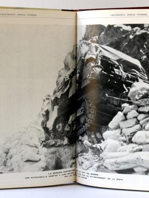 Les croisières automobiles. Les grands dossiers de l'Illustration, 1988. Pages intérieures.