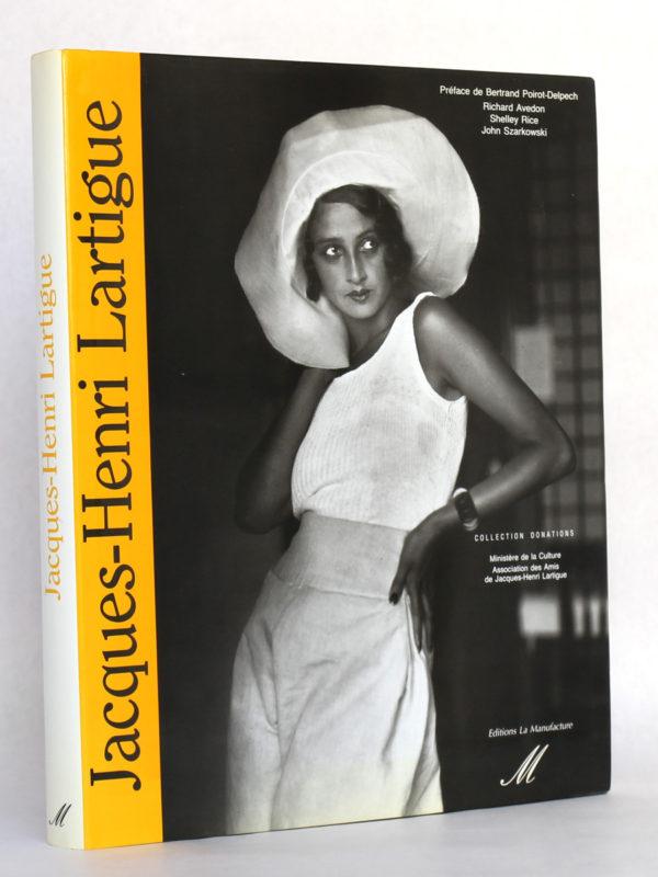 Le Choix du bonheur, Jacques-Henri LARTIGUE. La Manufacture, 1992. Couverture.