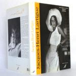 Le Choix du bonheur, Jacques-Henri LARTIGUE. La Manufacture, 1992. Jaquette : plats et dos.