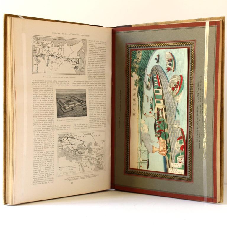 Histoire de la locomotion terrestre, Charles DOLFUS, Edgard de GEOFFROY. L'Illustration 1938. Pages intérieures.