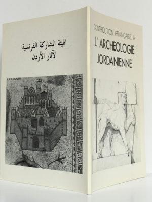 Contribution française à l'archéologie jordanienne. IFAPO, 1984. Couverture : plats et dos.