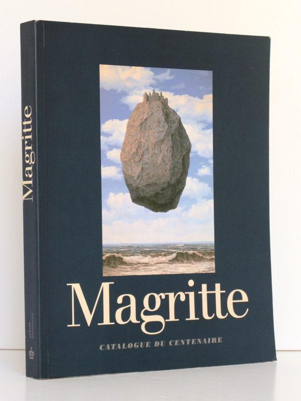 Magritte 1898-1967 Catalogue du centenaire. Ludion / Flammarion 1998. Couverture.