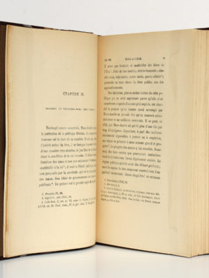 Marc-Aurèle et la fin du monde antique, Ernest RENAN. Calmann-Lévy [vers 1900]. Pages intérieures.