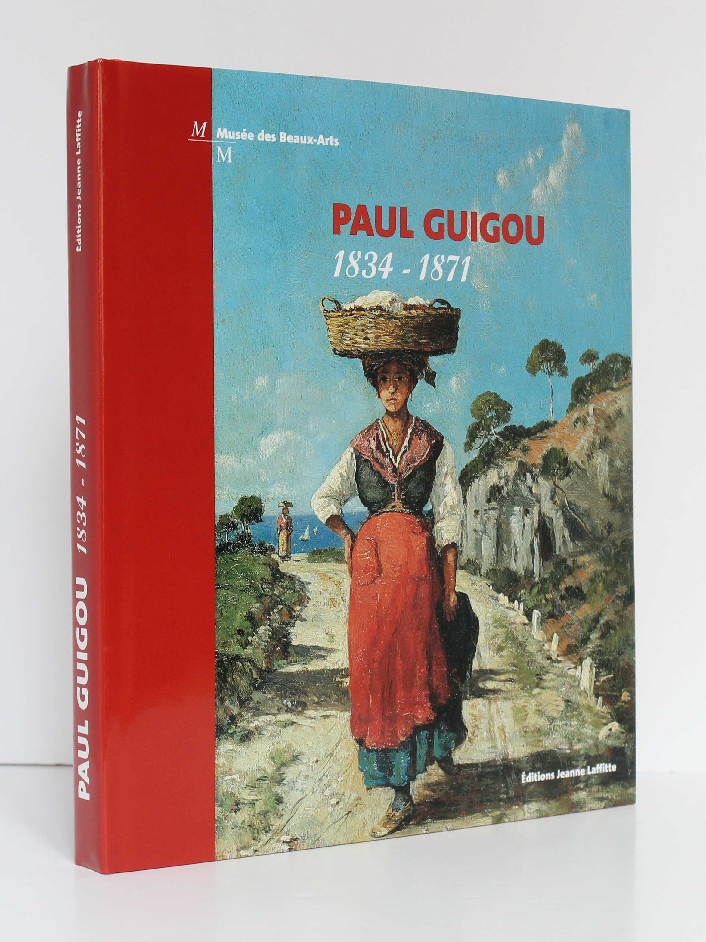 Paul Guigou, 1834-1871. Catalogue de l'exposition rétrospective, Paris-Marseille 2004-2005. Couverture.