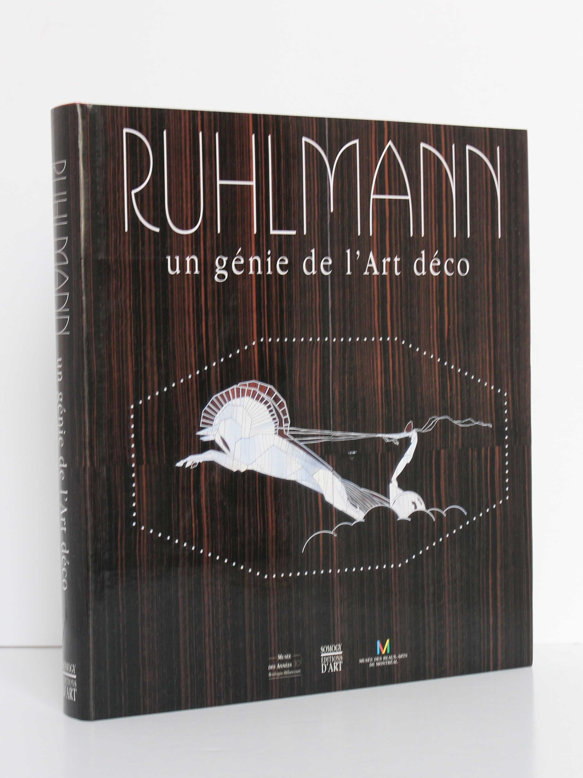 Ruhlmann Un génie de l'Art déco. Somogy Éditions d'art, 2004. Couverture.