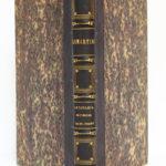 Le Tailleur de pierres de Saint-Point, Lamartine. Lecou-Furne_Pagnerre, 1851. Reliure : dos et plats.