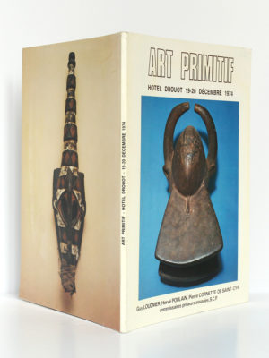 Art primitif. Hôtel Drouot 1974. Collection André Schoeller. Couverture : dos et plats.