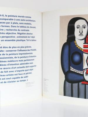 Fernand Léger. Catalogue Centre Pompidou 1997. Pages intérieures.