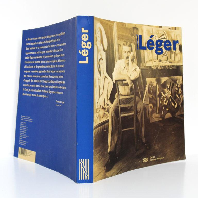 Fernand Léger. Catalogue Centre Pompidou 1997. Couverture : dos et plats.