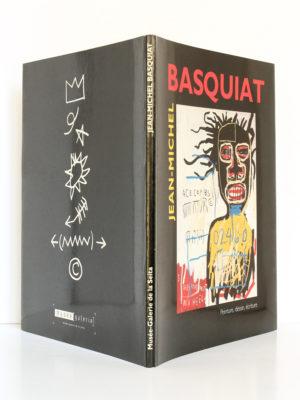 Jean-Michel Basquiat Peinture, dessin, écriture. Musée-galerie de la Seita, 1993. Couverture : dos et plats