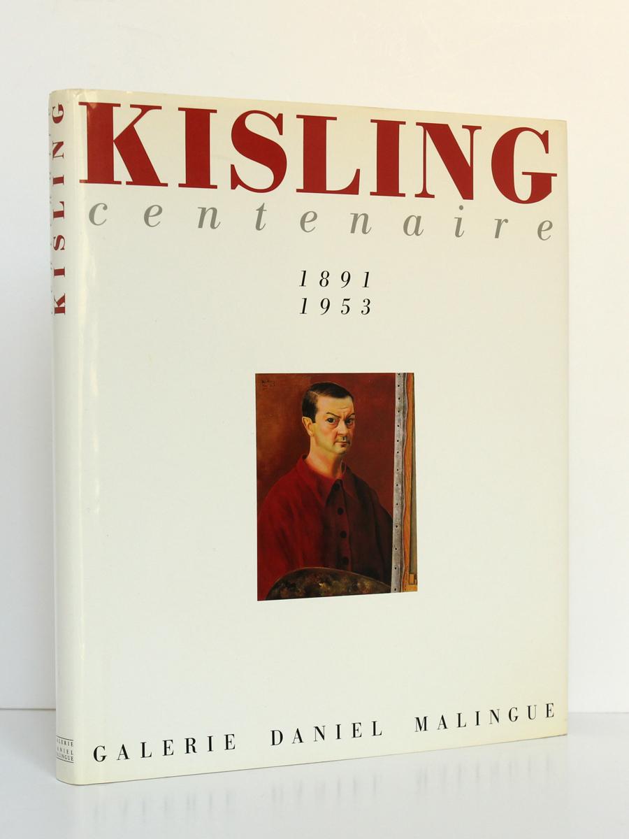 Kisling Centenaire 1991. Galerie Daniel Malingue. Couverture.
