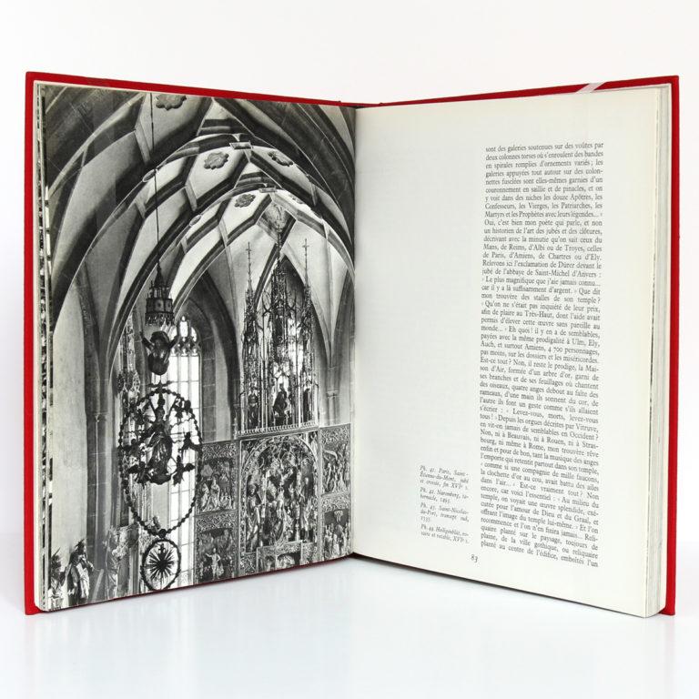 L'Ordre flamboyant et son temps. François CALI. Arthaud, 1967. Pages intérieures.