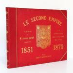 Le Second Empire (1851-1870), Armand Dayot. Flammarion, sans date. Couverture.